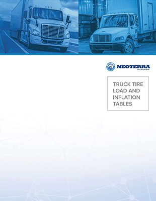 TRUCK TIRE LOAD AND INFLATION TABLES